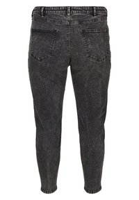 Zizzi - WITH A HIGH WAIST - Slim fit jeans - black - 5