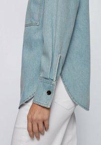 BOSS - Button-down blouse - blue - 4