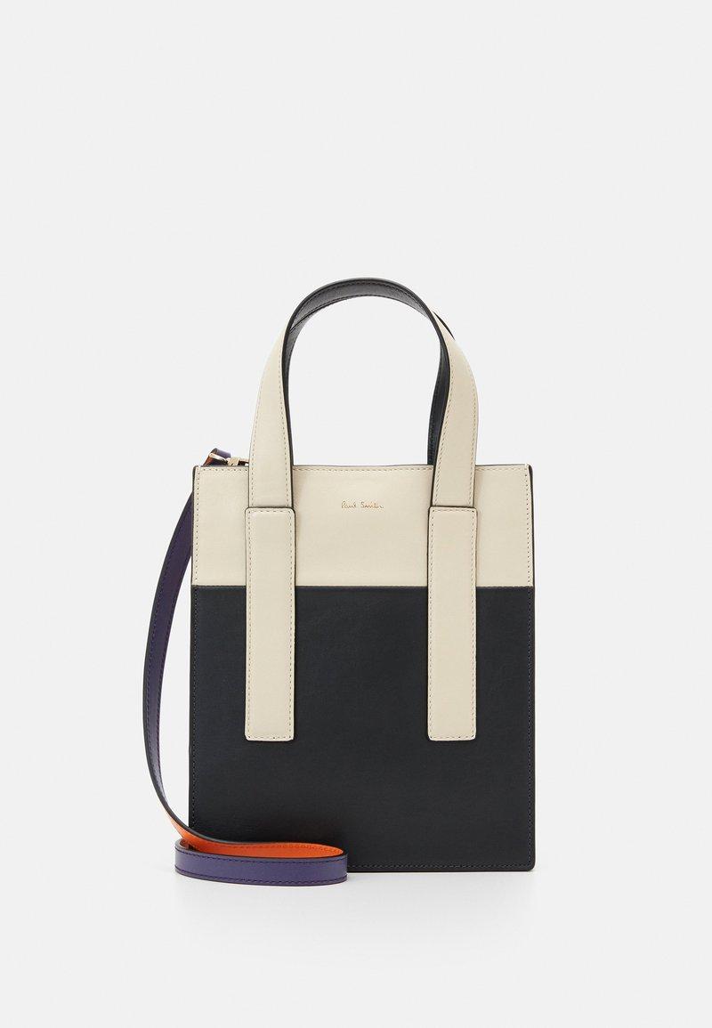 Paul Smith - WOMEN BAG MINI TOTE CON - Handbag - slate