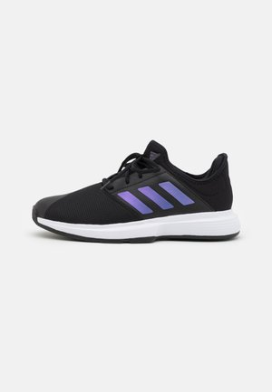 GAMECOURT  - All court tennisskor - core black/footwear white