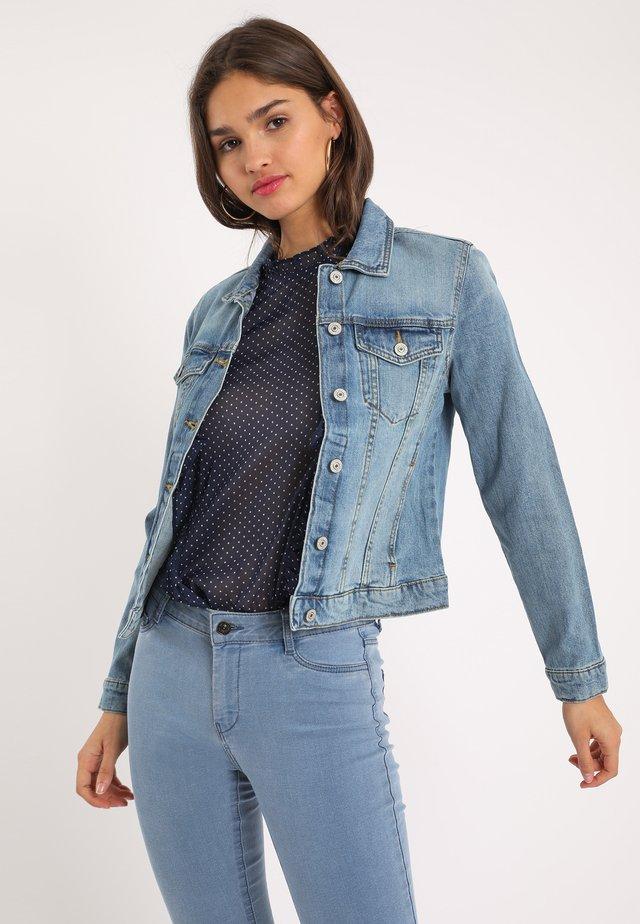 PIMKIE DUNKLE - Veste en jean - ausgewaschenes blau