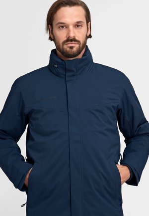 TROVAT 3 IN 1 - Outdoor jacket - marine