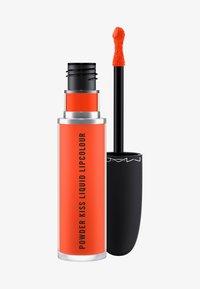 MAC - POWDER KISS LIQUID LIPCOLOUR - Liquid lipstick - resort season - 0