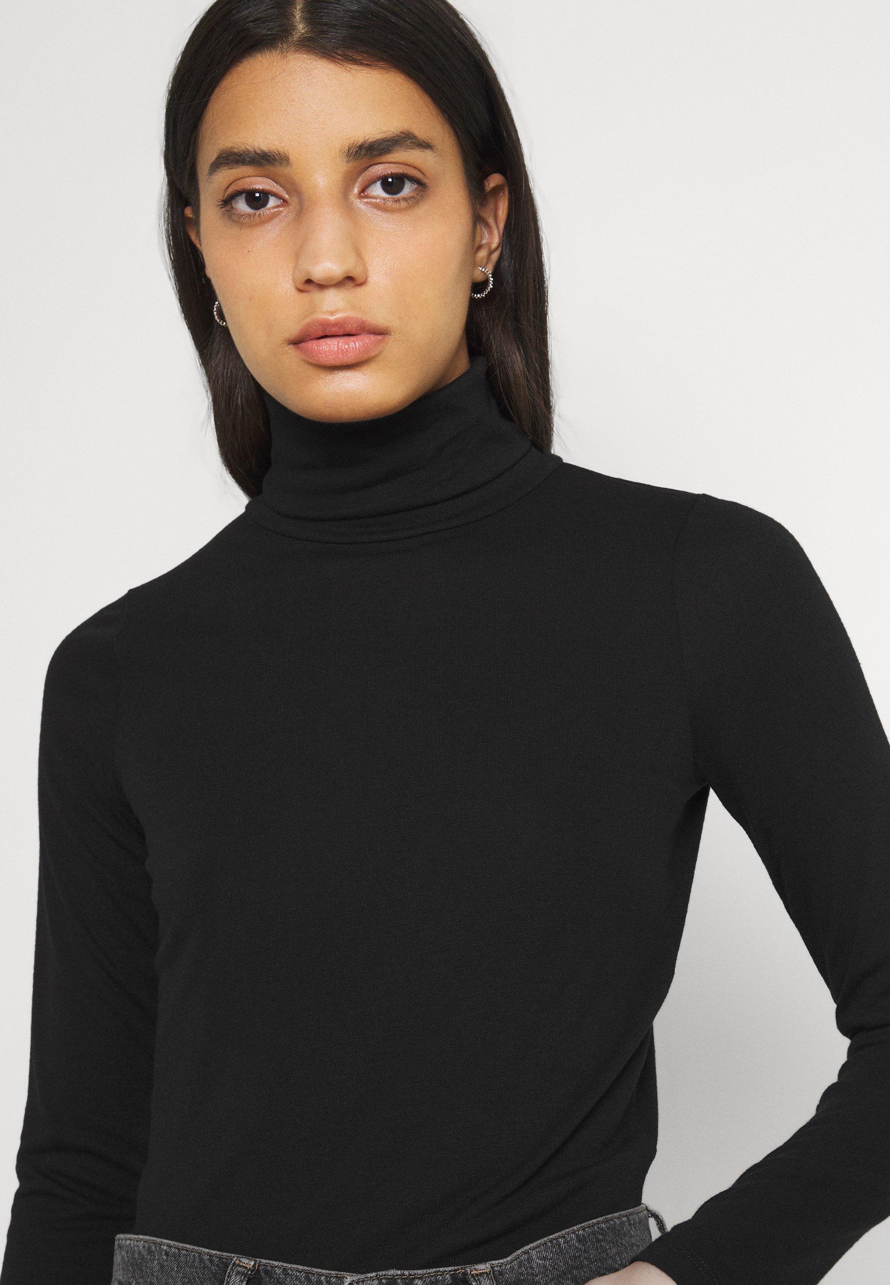 Women ROLL NECK LONG SLEEVE - Long sleeved top