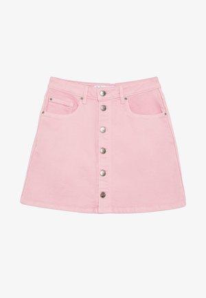 DUA LIPA X COLLECTION - Spódnica jeansowa - chewing gum
