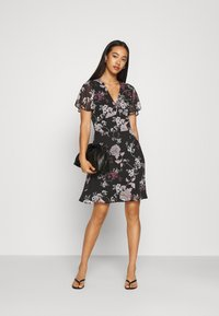 Vero Moda - VMKATINKA SHORT DRESS - Day dress - black - 1