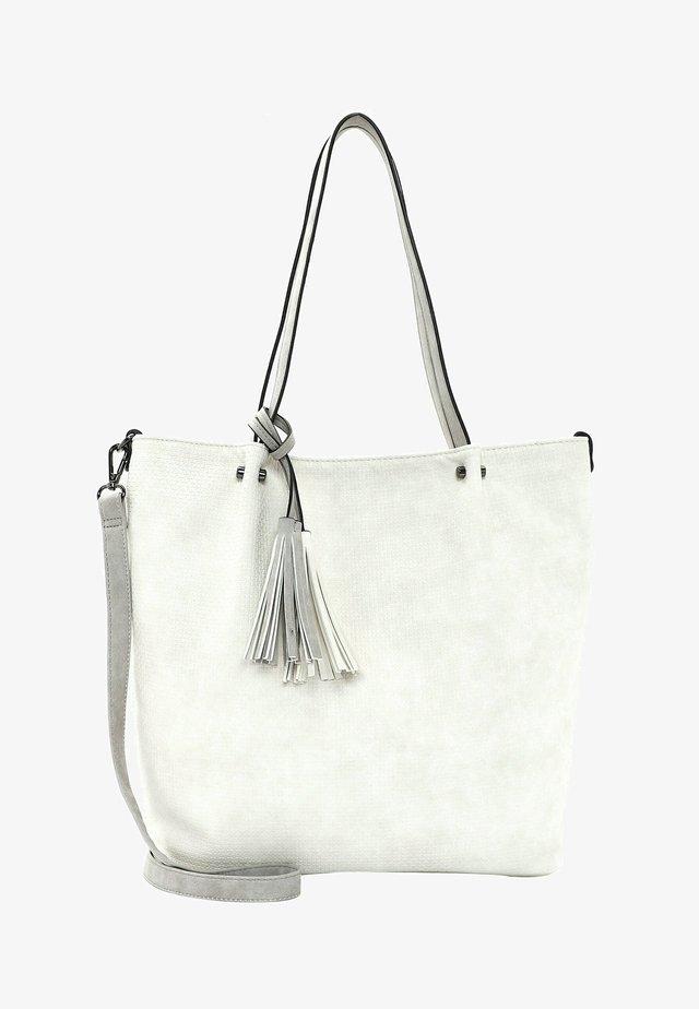 SURPRISE - Shopping bag - ecru lightgrey