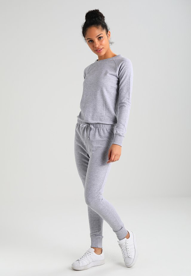 CREW NECK - Overall / Jumpsuit - grey marl