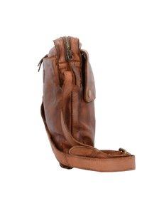Harold's - SADDLE  - Across body bag - cognac - 2