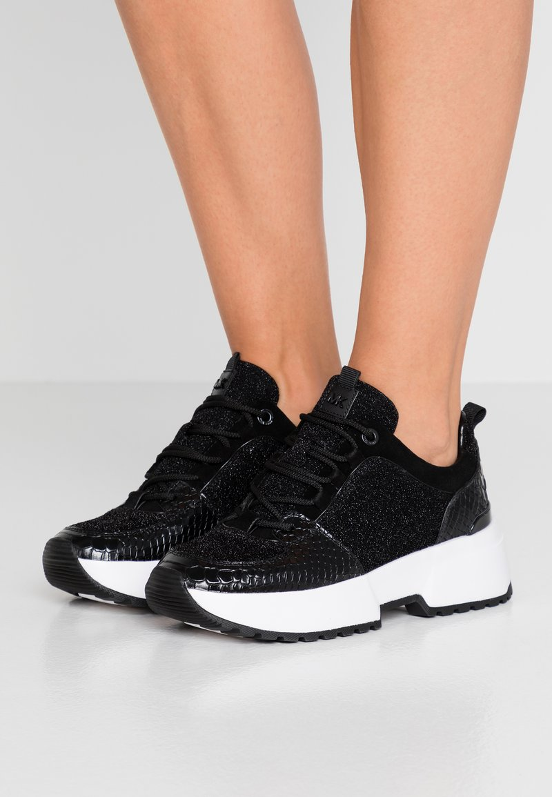 MICHAEL Michael Kors - COSMO TRAINER - Sneakers - black