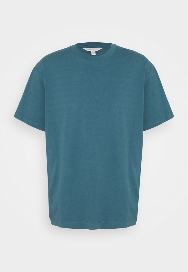 RELAXED TEE - Basic T-shirt - blue grey