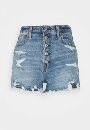 Jeansshorts - blue