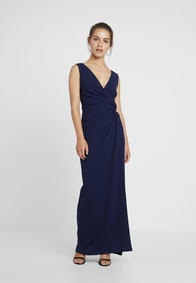 CHROME - Robe longue - navy