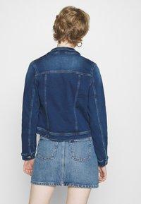 ONLY - ONLTIA LIFE JACKET - Denim jacket - dark blue denim - 2