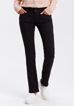 LOIE - Straight leg jeans - black