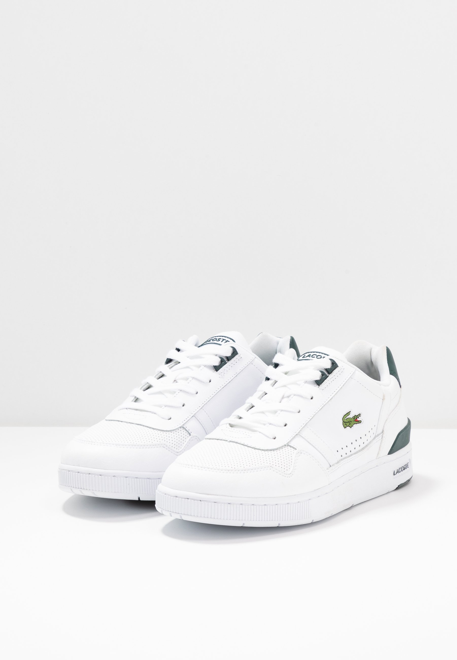 T CLIP Sneakers whitedark green
