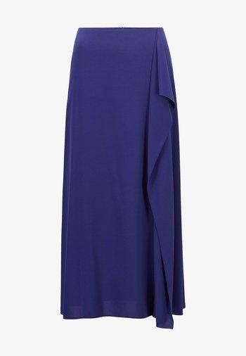 Maxi skirt - dark purple