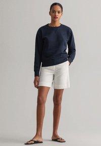 GANT - ORIGINAL C-NECK SWEAT - Sweatshirt - evening blue - 0