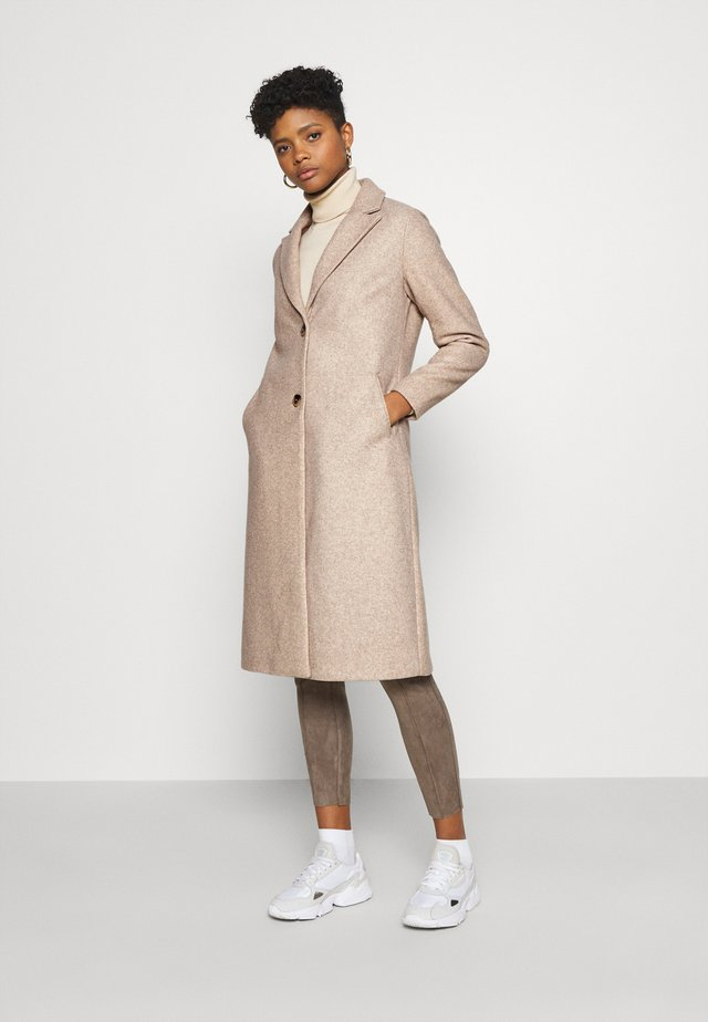 VIMILES BUTTON COAT - Manteau classique - natural melange
