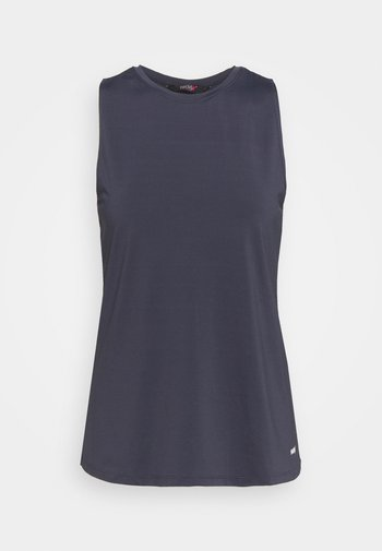 TWISTED BACK TANK - Top - grey