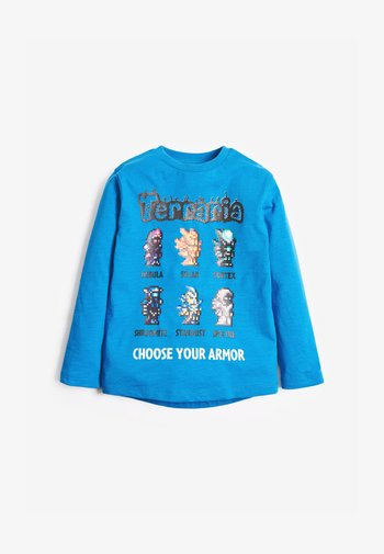 TERRARIA T-SHIRT - Long sleeved top - blue