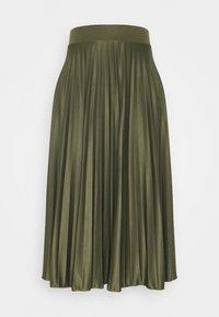 Dorothy Perkins Tall - PLEAT SKIRT - A-line skirt - khaki - 0