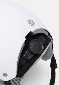 Alpina - ARBER VISOR UNISEX - Helmet - white matt - 7