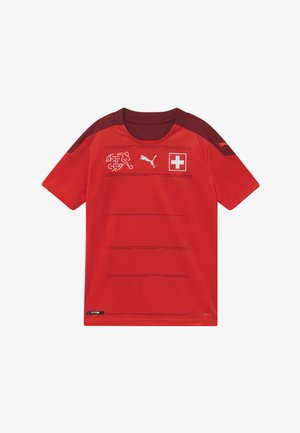 SCHWEIZ SFV HOME REPLICA - Nationalmannschaft - red/pomegranate
