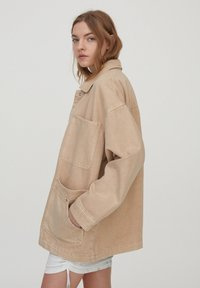 PULL&BEAR - Denim jacket - beige - 3