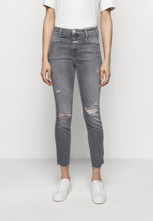 PUSHER - Skinny džíny - mid grey
