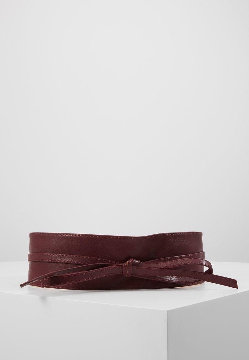 NAF NAF - SKIMONO - Waist belt - burgundy