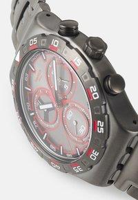 Swatch - CRAZY DRIVE - Zegarek chronograficzny - silver-coloured - 3