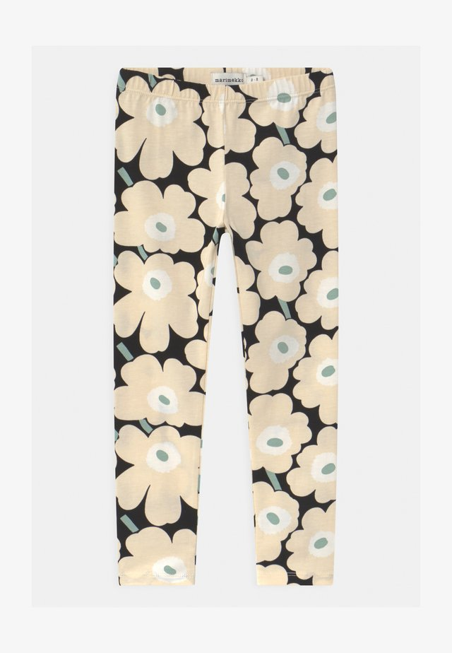 LAIRI MINI UNIKOT - Legging - black/beige/light green
