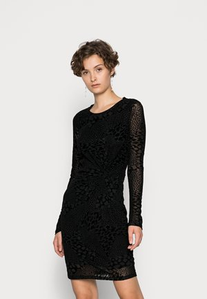 VMDAYA SHORT KNOT DRESS - Cocktail dress / Party dress - black