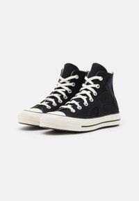 Converse - CHUCK 70 - Korkeavartiset tennarit - black/egret/almost black - 2