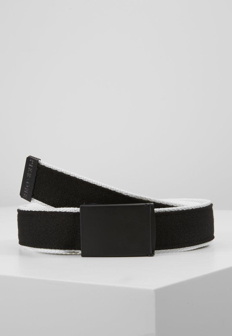 Pier One - Pásek - black/white