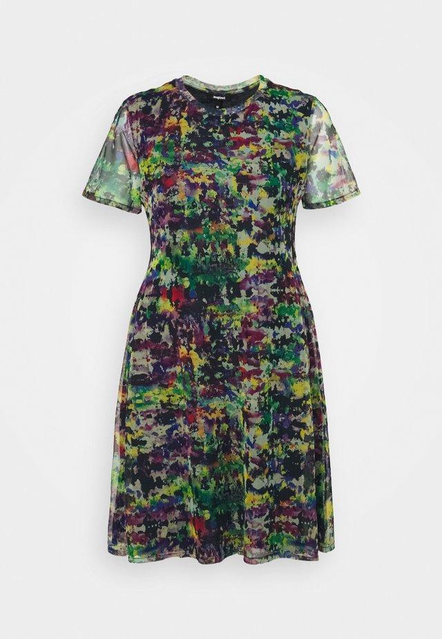 ANN - Korte jurk - green