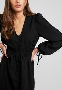 Vero Moda - VMEDDA DRESS - Robe chemise - black - 5