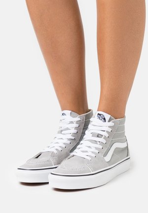 SK8 TAPERED - Sneakers hoog - drizzle/true white