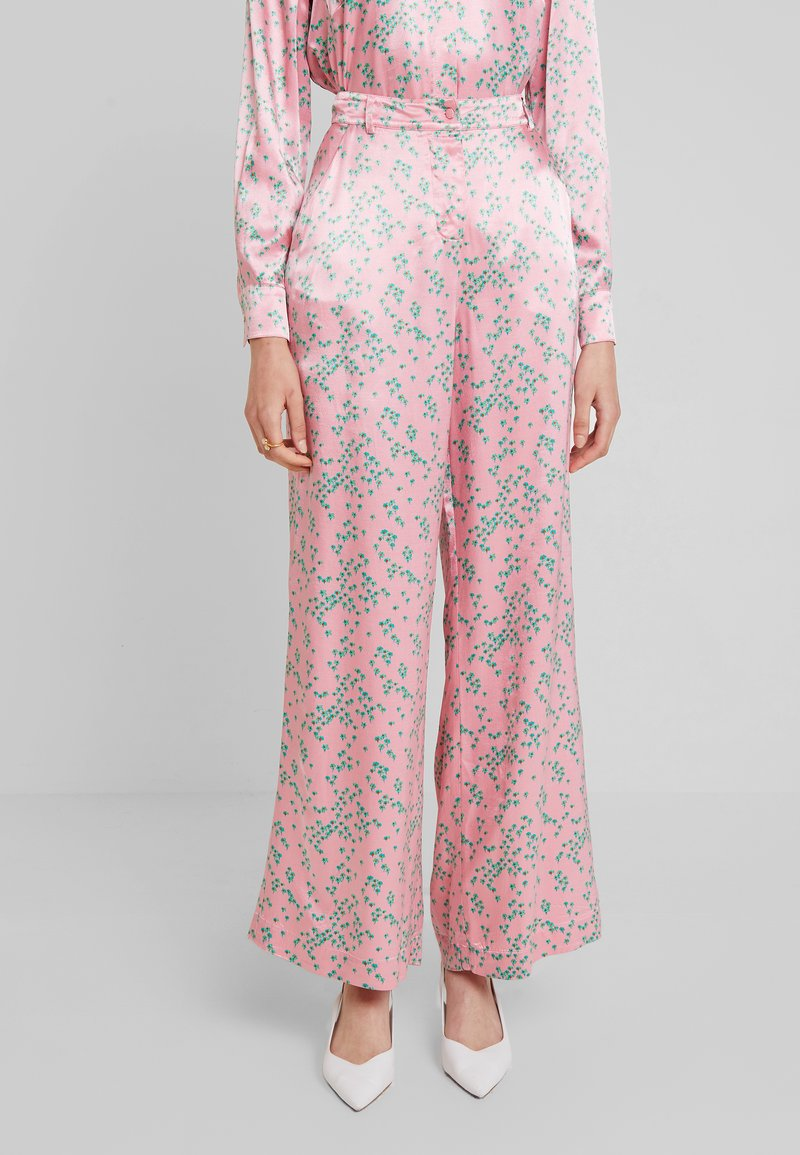 Ghost - HARLEY TROUSER - Trousers - pink