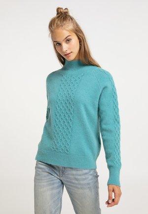 Sweter - petrol
