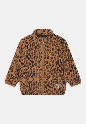 LEOPARD UNISEX - Fleece jacket - beige
