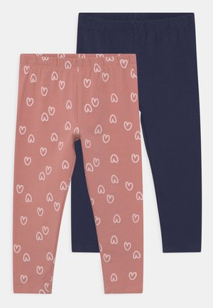 2 PACK - Leggings - Trousers - mauveglow