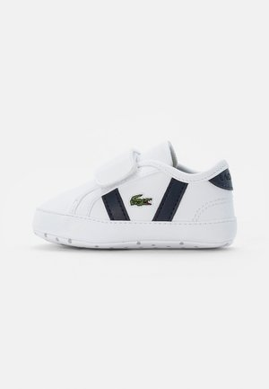SIDELINE CRIB CUB - First shoes - white/navy