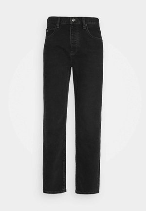 JEAN - Straight leg jeans - black