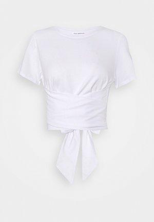 WRAP AROUND TEE - Basic T-shirt - white