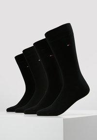 Tommy Hilfiger - MEN SOCK CLASSIC 4 PACK - Skarpety - black - 0