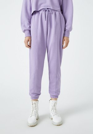 Tracksuit bottoms - mauve