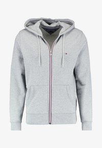 Tommy Hilfiger - Zip-up hoodie - cloud heather - 4