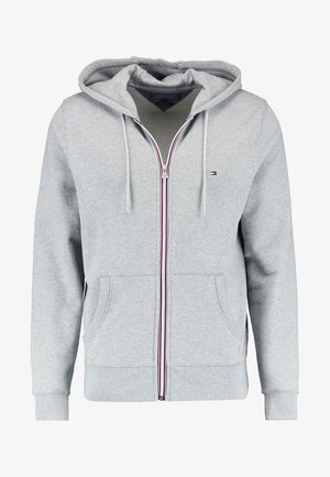 Zip-up hoodie - cloud heather